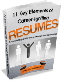 11 Key Elements of Career-Igniting Resumes